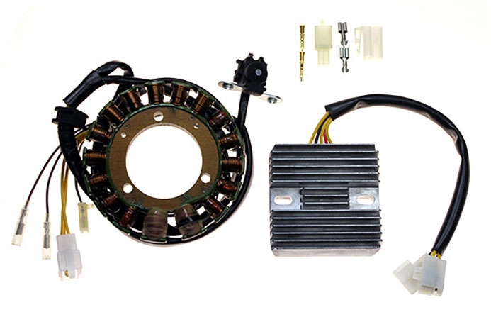 G443 RR17 L generator stator alternator generator and regulator rectifier honda xr400 xr650 electrex electrex world wiring diagram at webbmarketing.co