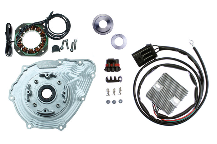 Honda CB750 SOHC Road Race Alternator System