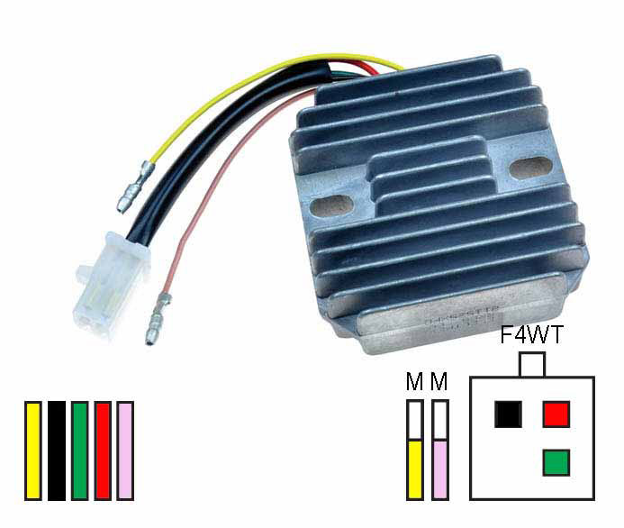 Regulator Rectifier fits Honda Early 6v models manufactured by