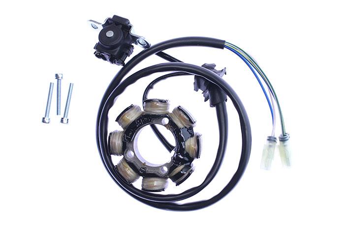 honda crf250, crf450 ignition stator - (st1495)
