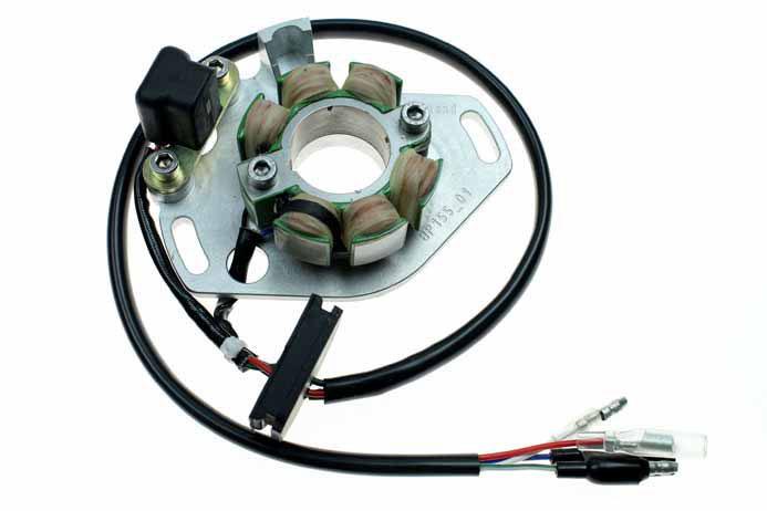 honda cr500 ignition stator - (st1550)