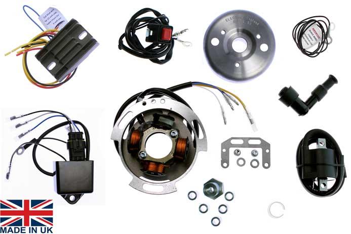 STK 109D L stator kit ignition lighting alternator kit for royal enfield crusader