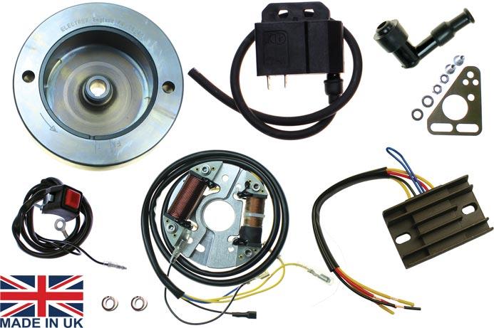 Bsa Bantam D1 D7 External Rotor Cdi Ignition Kit With Lighting
