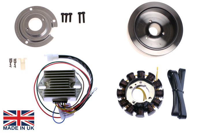 STK 160 L stator kit alternator kit 120w for ducati single cylinder 125 250cc Wiring Harness Diagram at nearapp.co