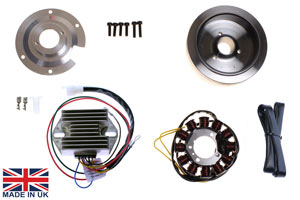 stator kit for ducati 250 350 400 450 ss desmo mk3 na f3 stk 163 wide case ducati singles 120w alternator system