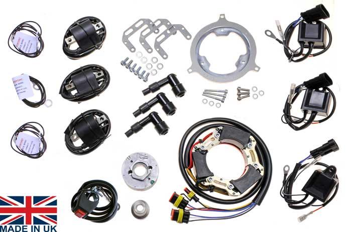 Stator Kit For Suzuki Gt380 Gt550 Manufactured By Electrex World