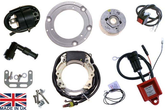 Ignition stator kit fits Yamaha YZ125 YZ250 Suzuki RM400 RM500