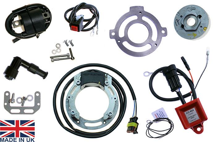 stator kit for honda cr250, cr500, self generating cdi ... honda pilot wiring harness installation honda cr500 wiring harness #11
