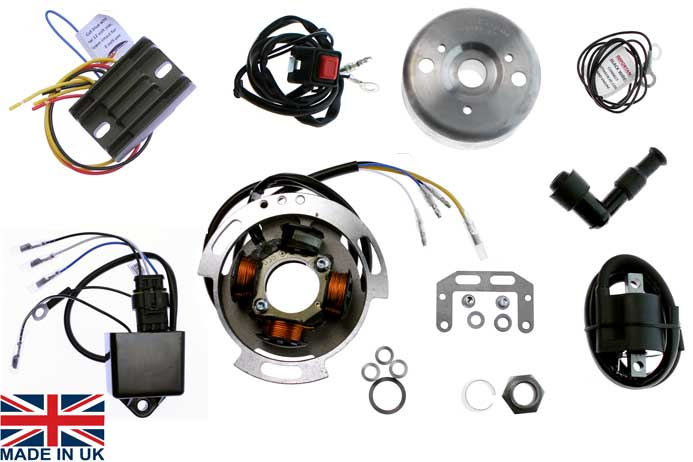 Stk 100d L stator kit ignition kit bsa b25 b40 b44 b50 c15 royal enfield 350 matchless electrex world wiring diagram at webbmarketing.co