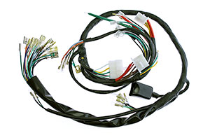 Honda CB750K 1976 Complete Wiring Harness - (WH-341-900)