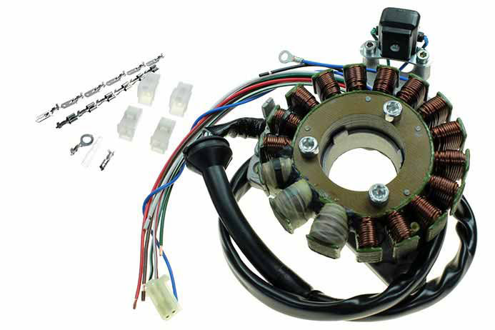 ignition stator for yamaha rd350 ypvs electrical parts for st4384 ignition stator